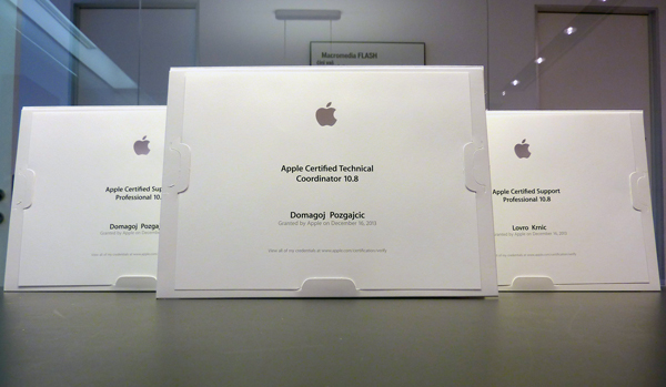 Finder certificirana APPLE podrška