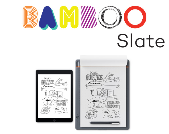Wacom Bamboo Slate - digitalni notes za skiciranje